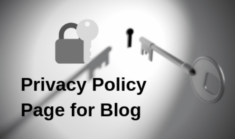 Create-a-privacy-policy-page
