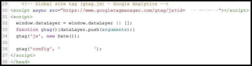 add website to google analytics