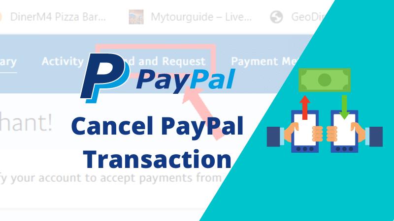 Cancel PayPal Transaction