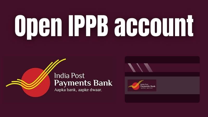 how to open ippb account