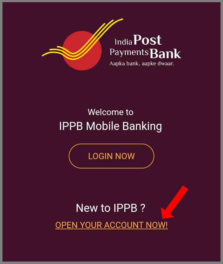 How to open IPPB account