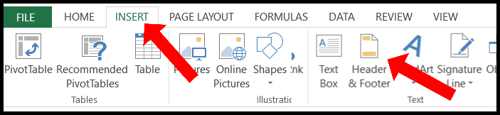 how to insert watermark in excel