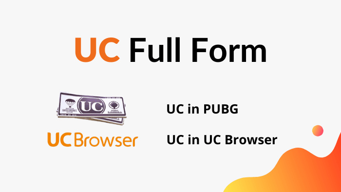 uc full form