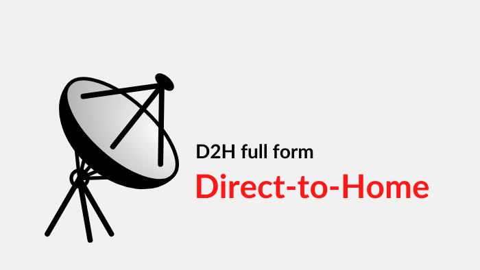 dth full form