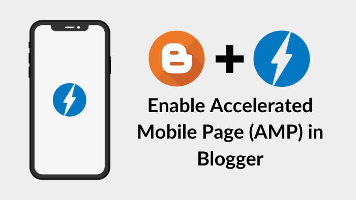 enable amp for blogger