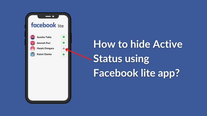 how to hide last seen on facebook lite