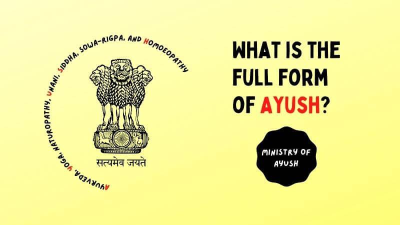 ayush full form